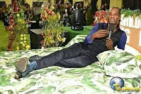 Photos Of Pastor Showing His Members What Heaven Looks Like With Bed And Flowers Hit Online 2