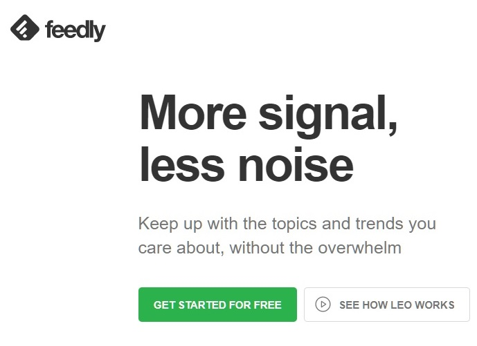Feedly RSS Subscription