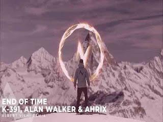 End of Time Lyrics – K-391| Alan Walker | Ahrix Image