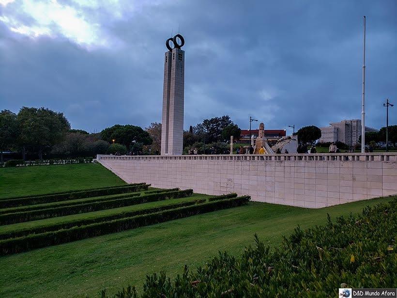 Mirante do Parque Eduardo VII - o que  fazer em Lisboa