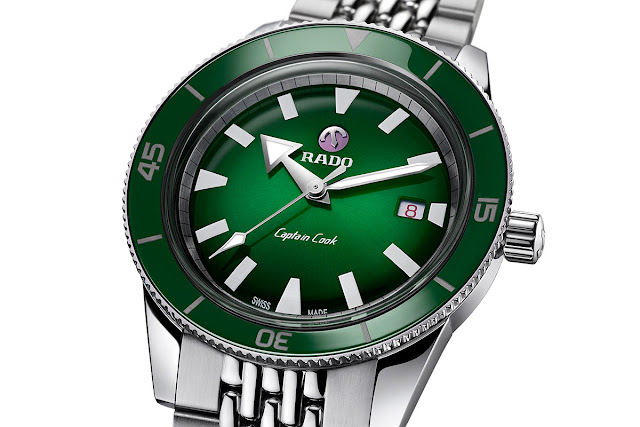Rado Tradition Captain Cook Green R32505313