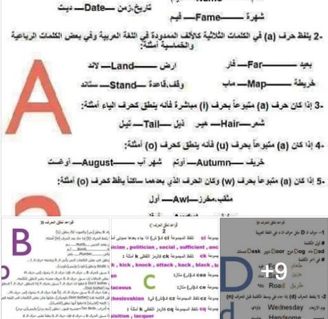 ملف قواعد نطق حروف اللغة الانجليزية الموقع التعليمي Ademweb Com