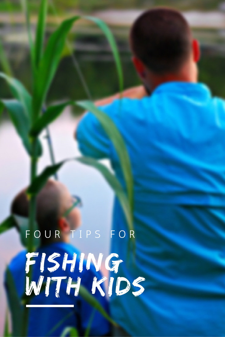 Hall Around Texas - Tips for fishing with kids