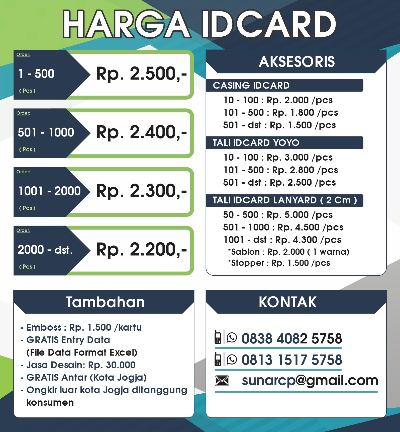 cetak idcard murah, cetak membercard murah, bikin idcard murah, bikin membercard murah, pesan idcard murah, pesan membercard murah
