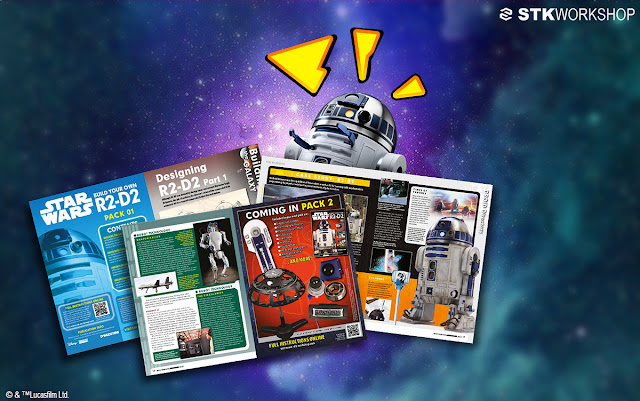 Star Wars STK Workshop Build Your Own R2-D2 太空維修機械人-星球大戰官方復刻品