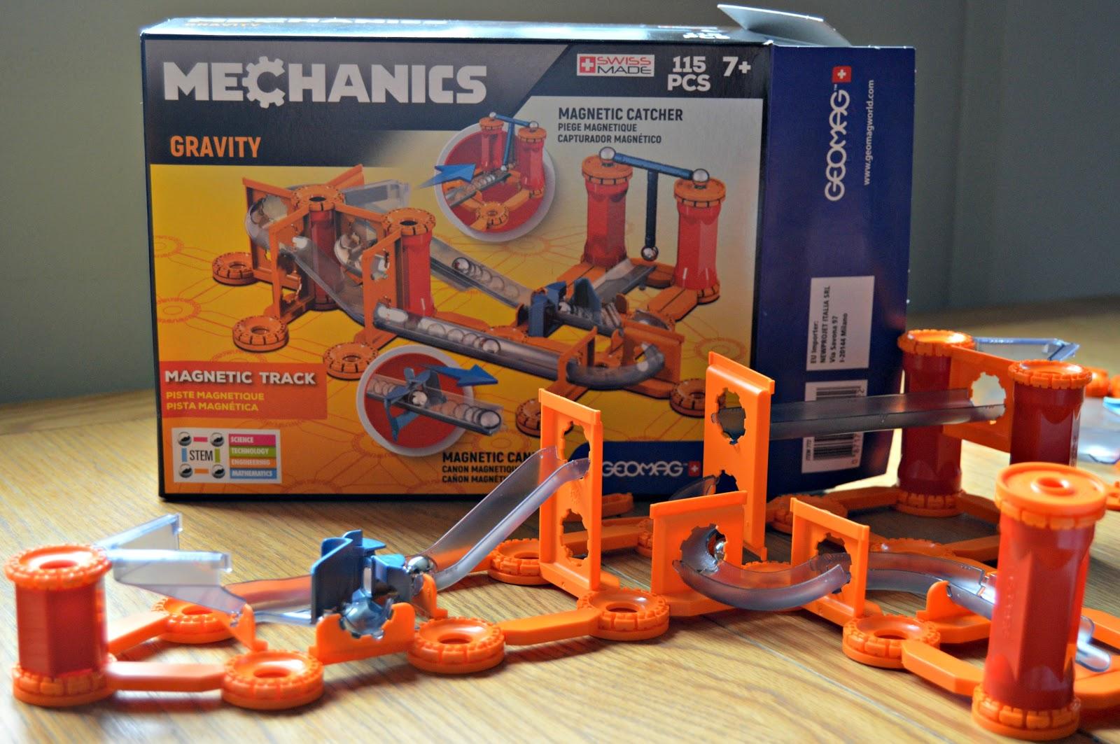 Mechanics Gravity Magnetic Track