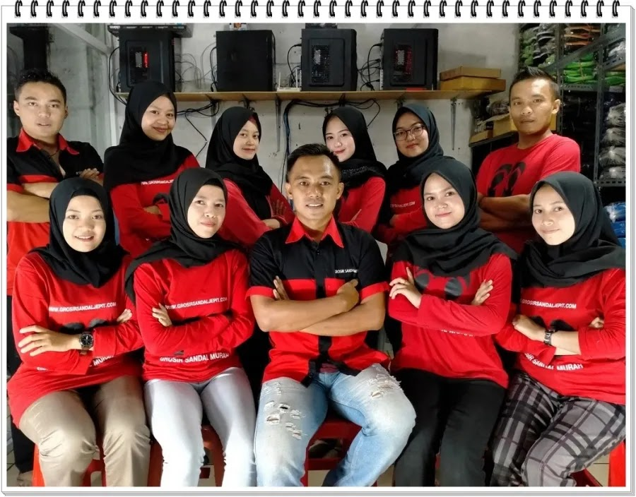 team sandal murah online