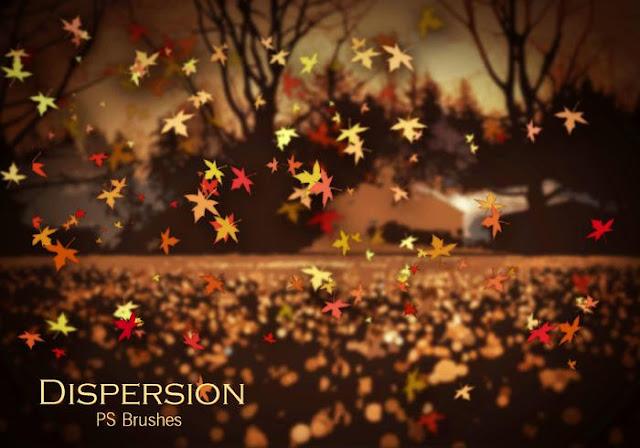 Dispersion Photoshop Brushes