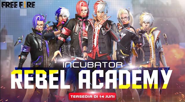 Bundle Incubator Free Fire Terbaru Juni 2020 Rebel Academy