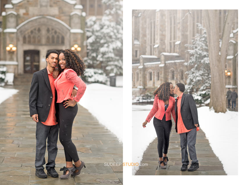 Law Quad Engagement session Photography - Sudeep Studio.com