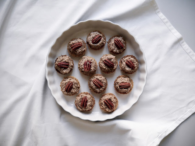 Vegan ořechové košíčky