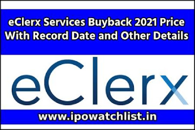 eClerx Services Buyback 2021