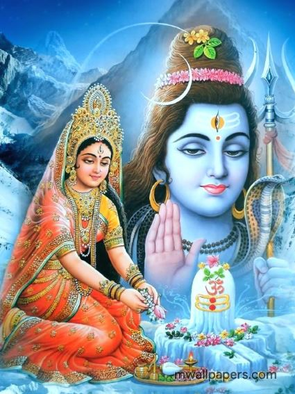 Lord Shiva and Parvati Mata HD Wallpapers 2020🙏 Collection ... |Shiva Parvati Love Wallpaper