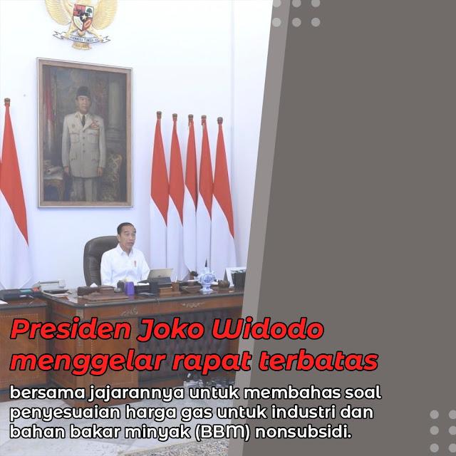 Presiden Gelar Ratas
