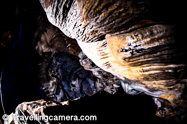 The Borra Caves are also called Borra Guhalu locally. Borra means hole in Odia language and guhalu means caves in Telugu language. These caves are located on the East Coast of India around Ananthagiri hills of the Araku Valley in Visakhapatnam district in Andhra Pradesh.