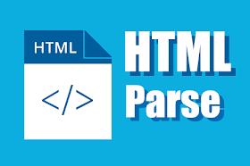 Cara Membuat Tools Parse HTML di Blogger