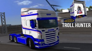 Troll Hunter Skin for Scania RJL