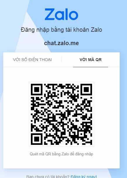 Zalo Web - Đăng Nhập Chat Zalo Online Không Dùng Phần Mềm c