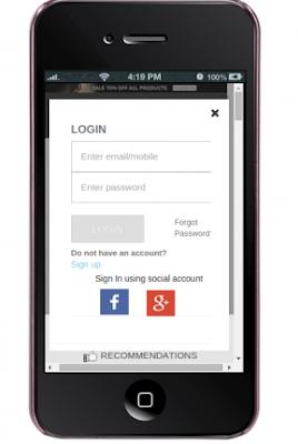 Login process of PrestaShop Quick Login Popup (with Facebook and Google login) module   Knowband