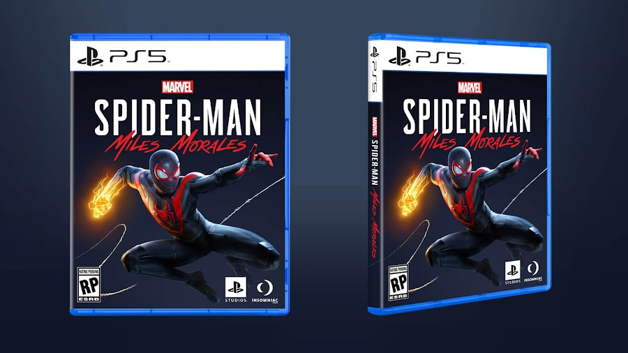 marvel's spider man miles morales ps5 official box art insomniac games sony interactive entertainment superhero action-adventure game holiday 2020