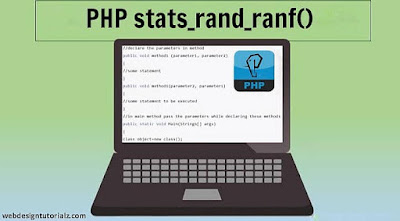 PHP stats_rand_ranf() Function