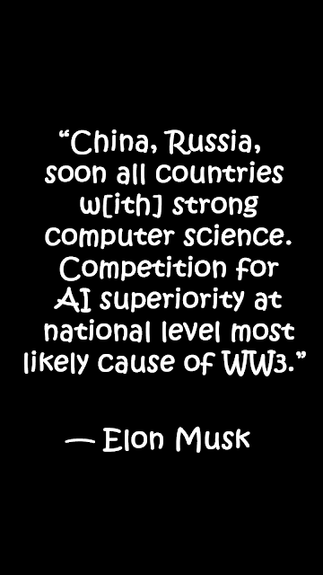 Elon Musk quotes on artificial intelligence