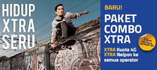 Spesifikasi lengkap Paket Combo XTRA XL Axiata