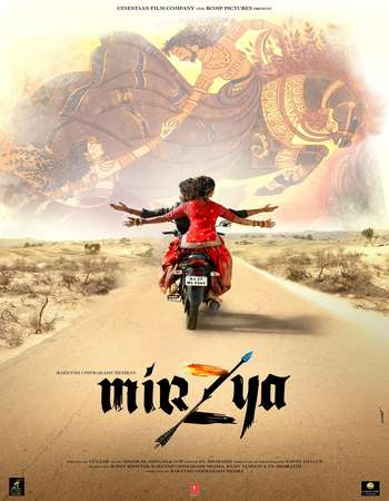 Poster Of Mirzya 2016 Hindi 700MB DVDScr XviD Watch Online Free Download downloadhub.in
