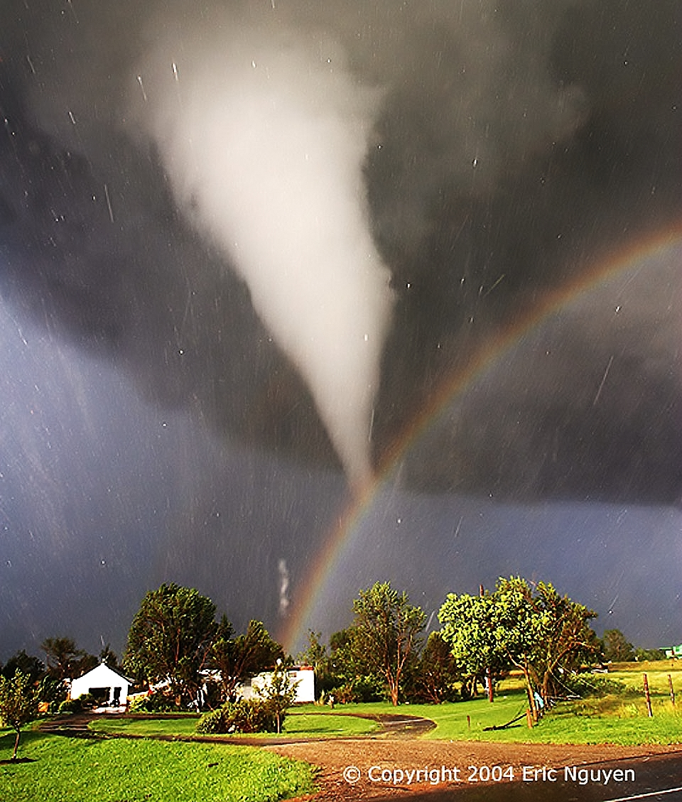 Video: Tornado and Rainbow