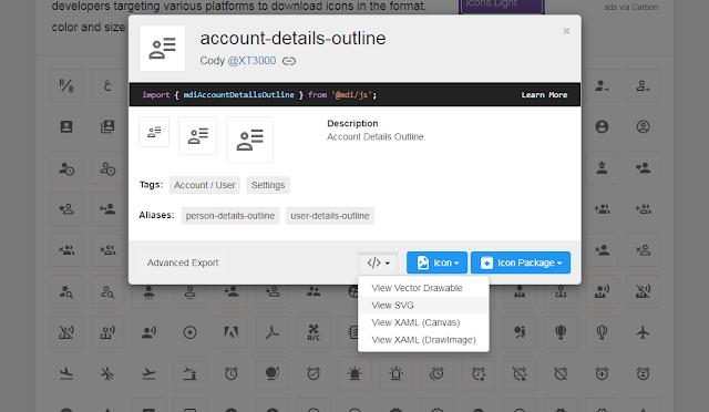 Cara Membuat Icon Label Otomatis di Blog Menggunakan Icon SVG