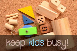 75+ WAYS TO KEEP KIDS BUSY! with Practical Mom