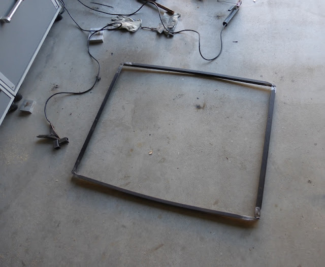 bed frame square welded