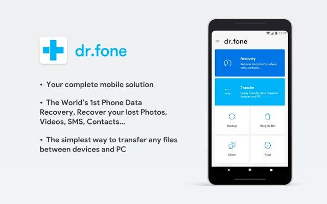 تحميل برنامج دكتور فون للاندرويد Dr.Fone Apk