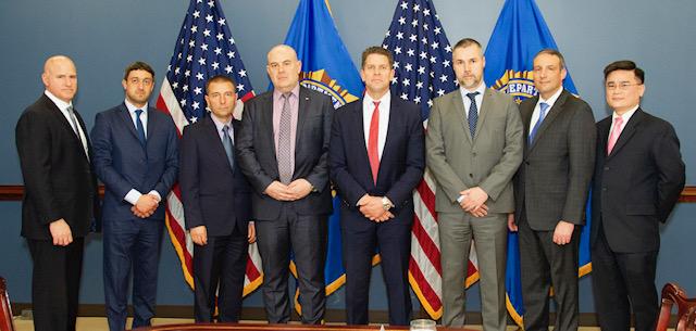 Иван Гешев се срещна със заместник-директора на ФБР