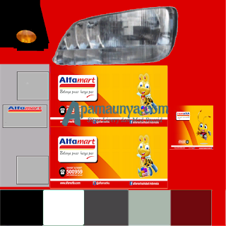Download Livery Truck Hino Box Alfamart