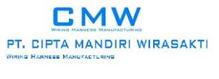 Lowongan Kerja Operator Produksi Bogor PT Cipta Mandiri Wirasakti (CMW)