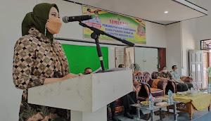 Bupati Inhu Rezita Meylani Yopi SE Hadiri Pembukaan Pelaksanaan Simulasi Pilkades Serentak.