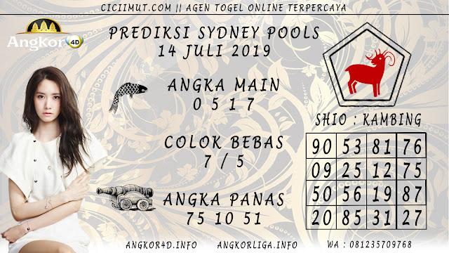 PREDIKSI SYDNEY POOLS 14 JULI 2019