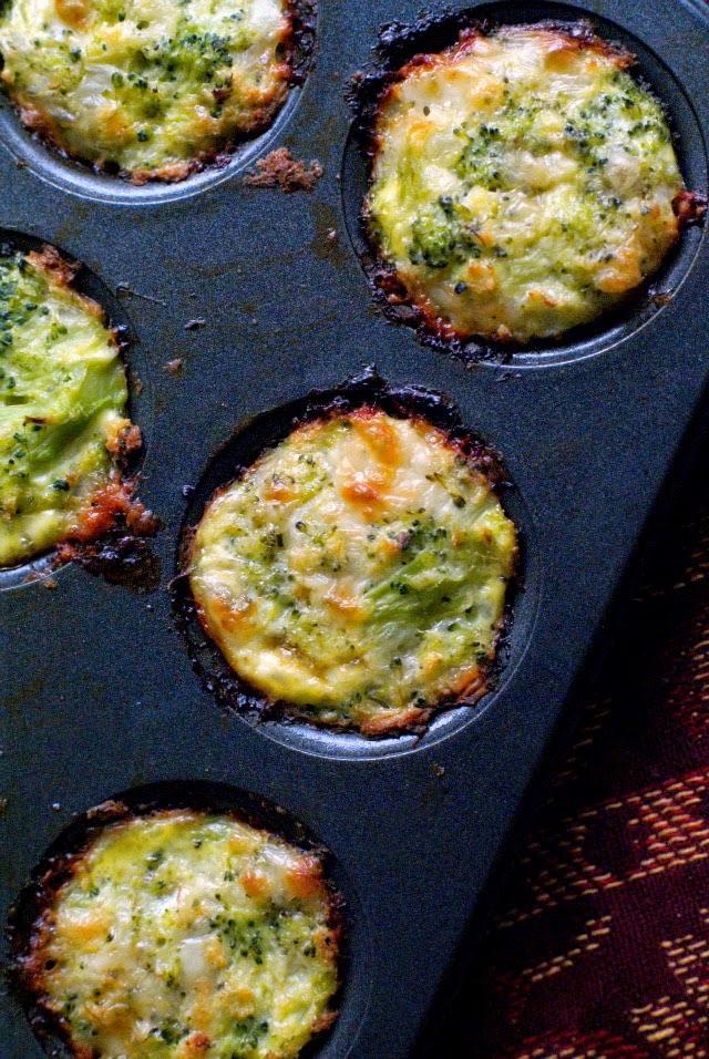 El brócoli Tots |  thetwobiteclub.com |  Un plato saludable o aperitivo!