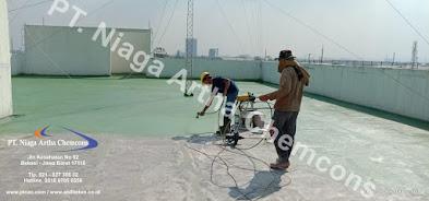Perbaikan Gedung Bocor Waterproofing