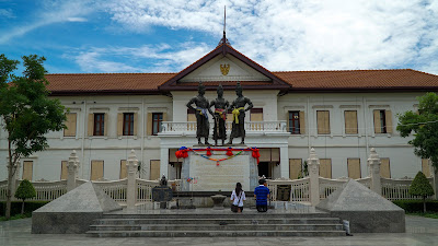 Three Kings Monument, one of Chiang Mai's most important landmarks