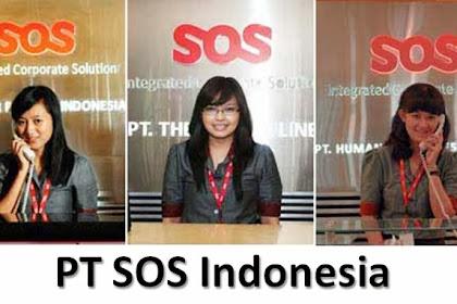 Lowongan Kerja Secutiry & Sales Counter PT. SOS Indonesia Tbk