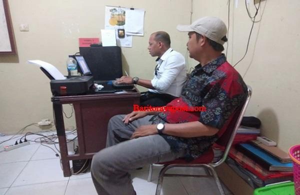 Kepala Desa Balu Polisikan Pemilik Akun Facebook Penyebar Aib ke Polres Mura