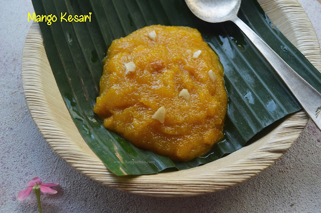 Mango Kesari Recipe | Mango Sheera | How to Prepare Mango Kesari