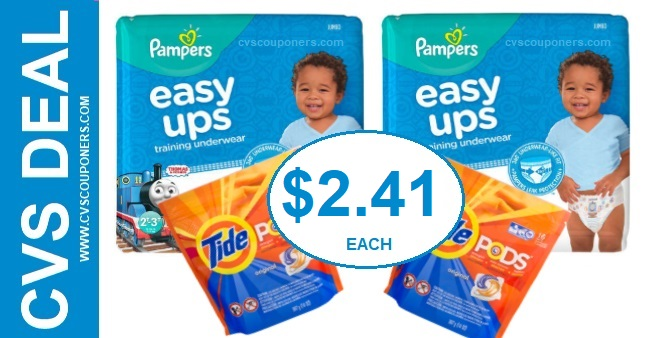 Pampers CVS Coupon Deal $2.41 10-27-11-2