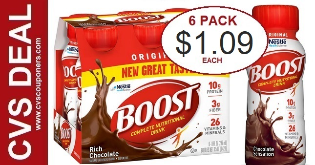 Boost Original Shakes CVS Deal