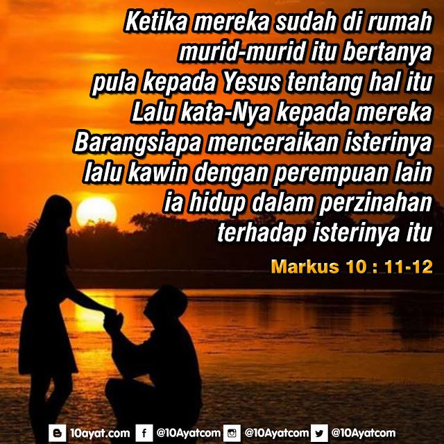 Markus 10: 11-12
