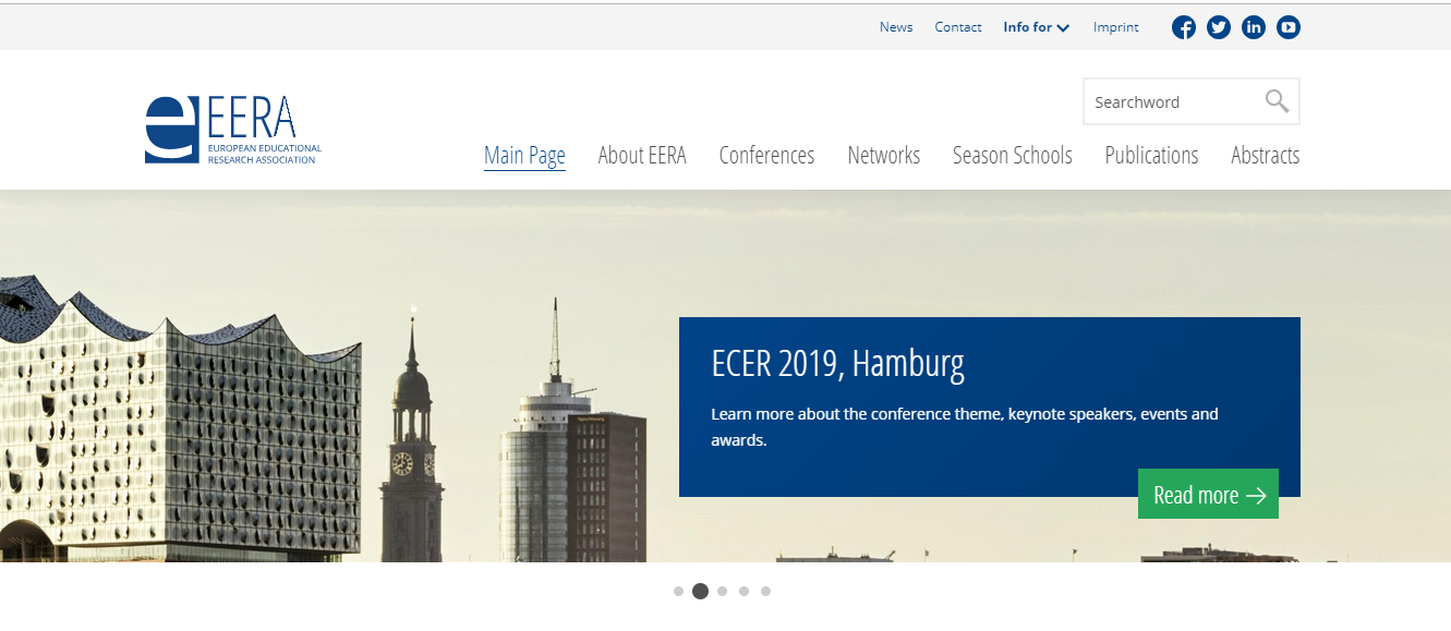 The #ECER2019 & @unihh Call for Proposals is now open @ECER_EERA ...