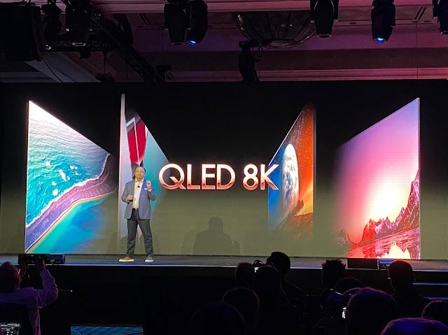 CES 2020 : Samsung dévoile un écran 8K sans bords !