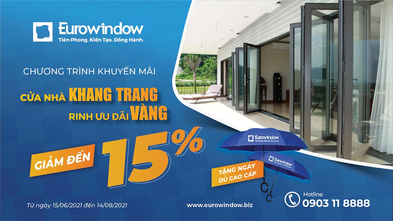 Eurowindow Khuyến Mãi